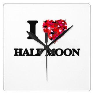 I love Half Moon Massachusetts Wallclock
