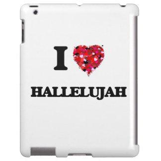 I Love Hallelujah iPad Case