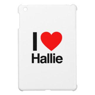 i love hallie iPad mini cover