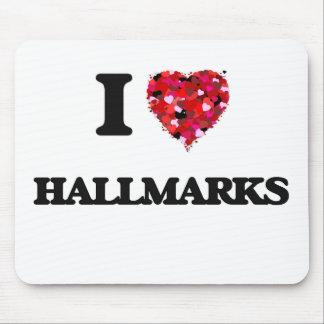 I Love Hallmarks Mouse Mat