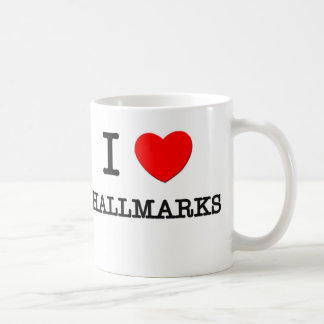 I Love Hallmarks Mugs