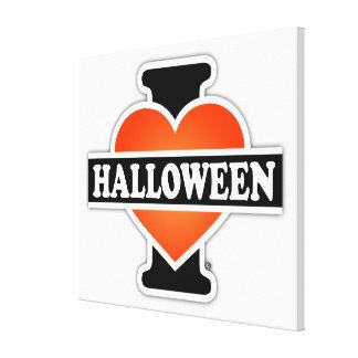I Love Halloween #1 Gallery Wrap Canvas