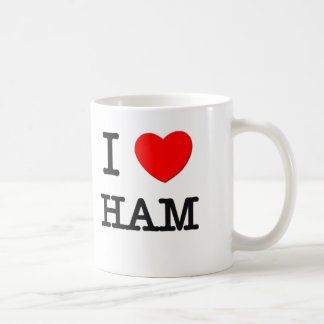 I Love Ham Coffee Mug