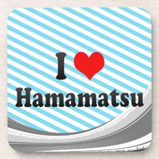 I Love Hamamatsu, Japan Beverage Coasters