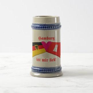 I Love Hamburg ist mir lieb Coffee Mug