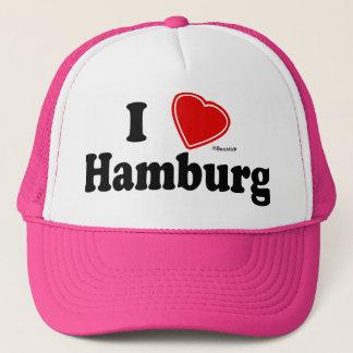 I Love Hamburg Trucker Hat