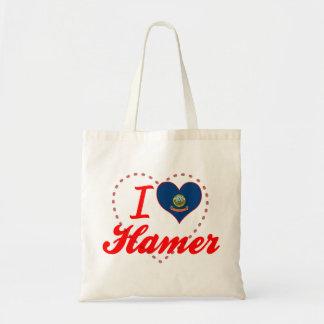 I Love Hamer, Idaho Bags