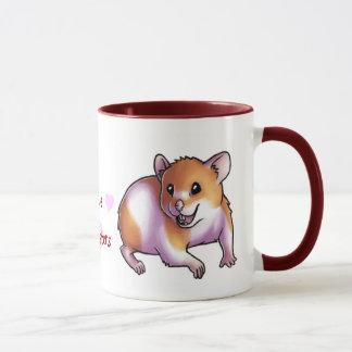 I Love Hamsters Mug