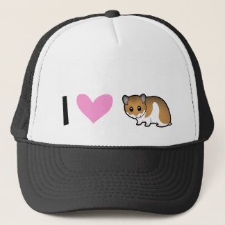 I Love Hamsters (syrian) Trucker Hat