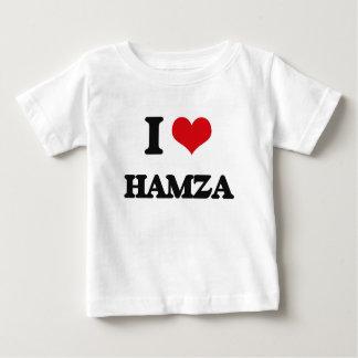 I Love Hamza Infant T-Shirt