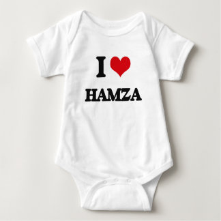I Love Hamza T Shirts