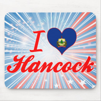 I Love Hancock, Vermont Mouse Pads