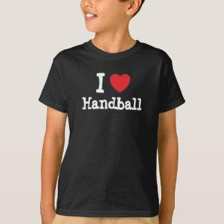 I love Handball heart custom personalized T-Shirt