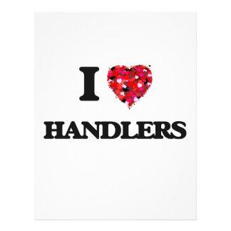 I Love Handlers 21.5 Cm X 28 Cm Flyer