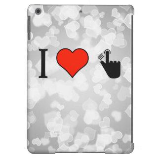 I Love Handprints iPad Air Cases