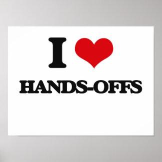 I love Hands-Offs Print