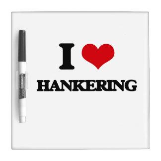 I love Hankering Dry Erase Whiteboard