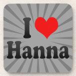 I love Hanna Coaster