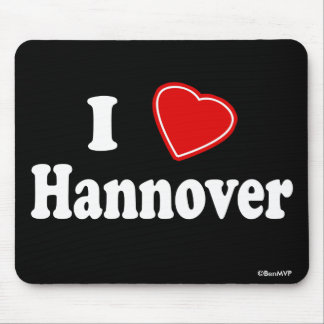 I Love Hannover Mousepads