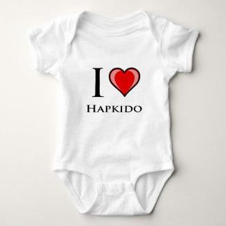 I Love Hapkido Baby Bodysuit
