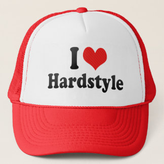 I Love Hardstyle Trucker Hat