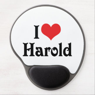 I Love Harold Gel Mouse Pad