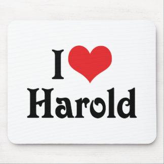 I Love Harold Mouse Pad