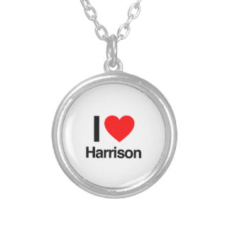 i love harrison personalized necklace