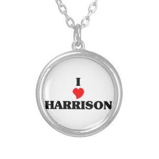 I love Harrison Round Pendant Necklace