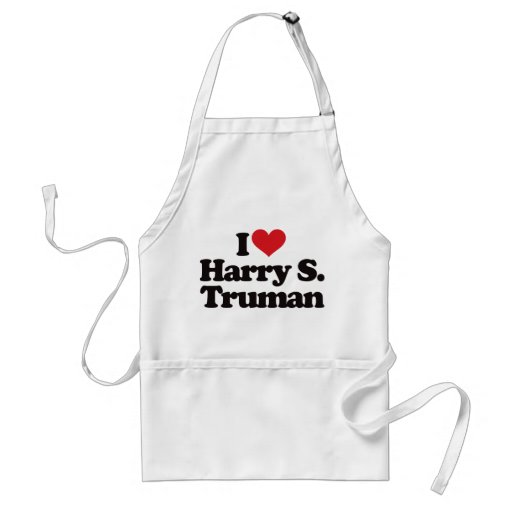 I Love Harry S Truman Apron