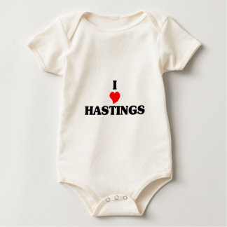 I love Hastings Baby Bodysuit