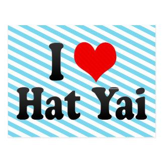 I Love Hat Yai, Thailand Postcard
