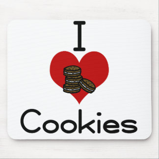 I love-hate Cookies Mousepads