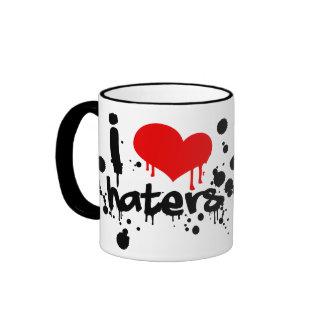 I Love Haters Ringer Mug