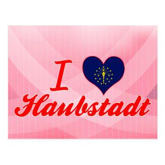 I Love Haubstadt, Indiana Postcard