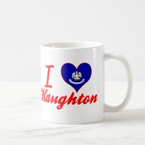 I Love Haughton, Louisiana Mugs