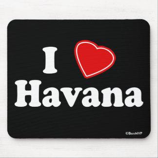 I Love Havana Mouse Mat