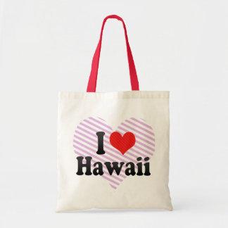 I Love  Hawaii Bags