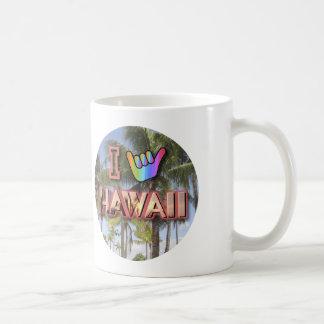 I Love Hawaii Basic White Mug
