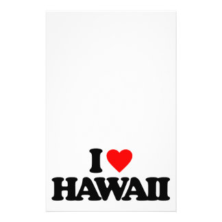 I LOVE HAWAII PERSONALIZED FLYER