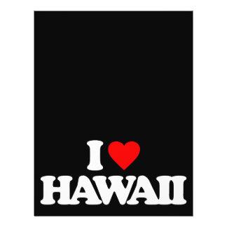 I LOVE HAWAII FLYER