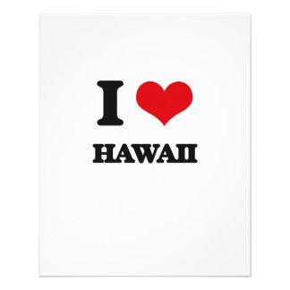 I Love Hawaii Custom Flyer