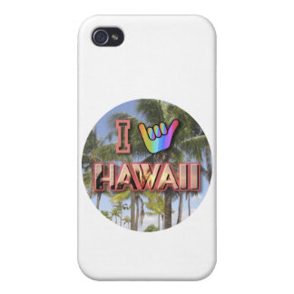 I Love Hawaii iPhone 4 Case