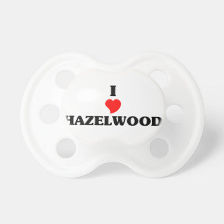 I love Hazelwood Baby Pacifiers