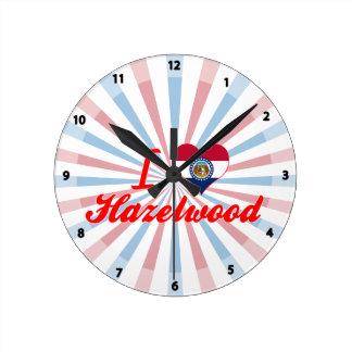 I Love Hazelwood, Missouri Clocks