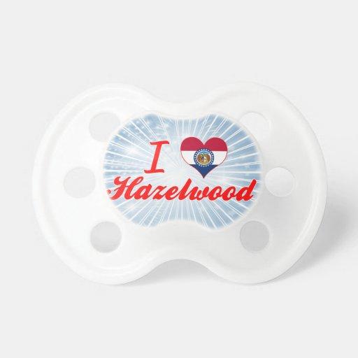 I Love Hazelwood, Missouri Baby Pacifiers