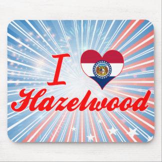 I Love Hazelwood, Missouri Mouse Pads
