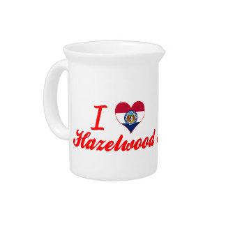 I Love Hazelwood, Missouri Drink Pitchers