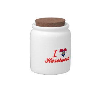 I Love Hazelwood, Missouri Candy Jar