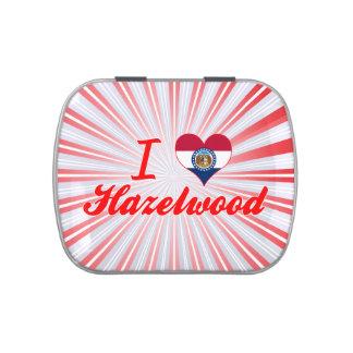 I Love Hazelwood, Missouri Jelly Belly Tin
